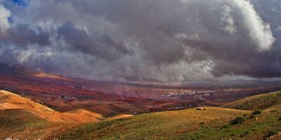 Lluvia artificial en Fuerteventura